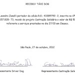Taxi Dog Outubro 2012