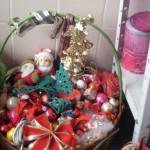 bazar cestinha de natal