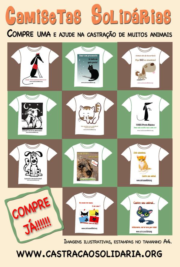 Camisetas Solidárias