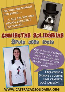 Campanha camisetas solidárias - Dayane