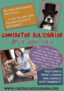 Campanha camisetas solidárias - Irene