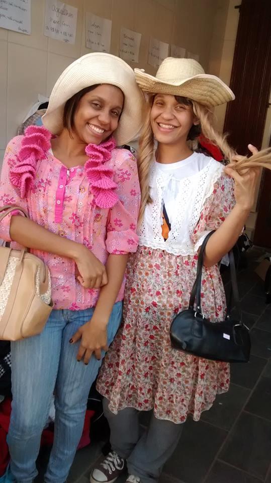 Andreia e Adriana Duarte (idealizadoras do projeto)