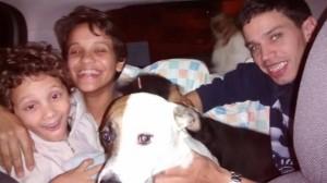 Cães morador de rua Sr.José