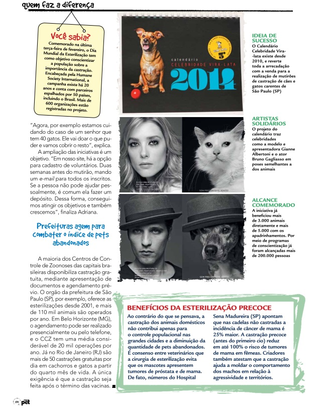 revista pet pg